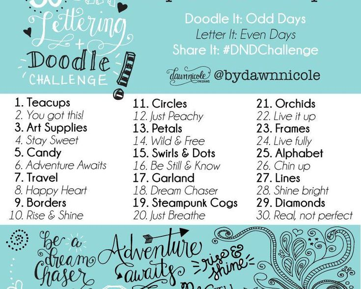 30 Day Challenge: September Prompts