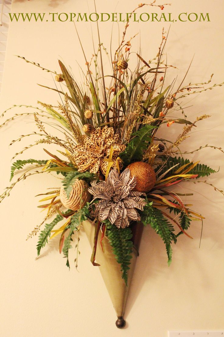 182 best images about Dried Flowers on Pinterest | Floral ... on Pocket Wall Sconce For Flowers id=39246