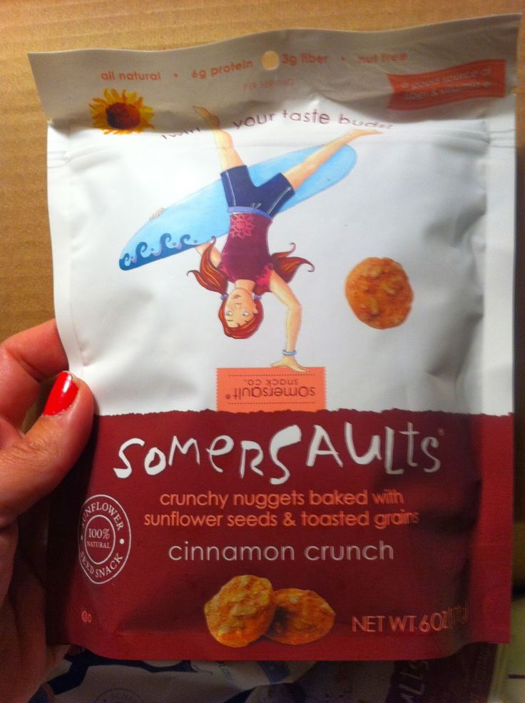 Someone is about to get their snack on with Somersault Snacks cinnamon crunch sesame seeds snacks. Get on your hands on some: http://brinx.it/A0v