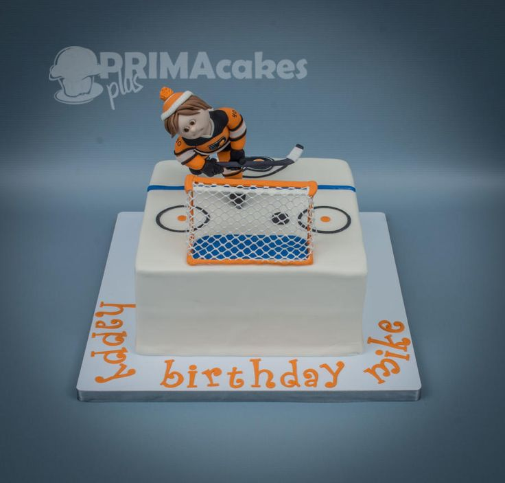 Flyers Hockey Cake by Prima Cakes Plus