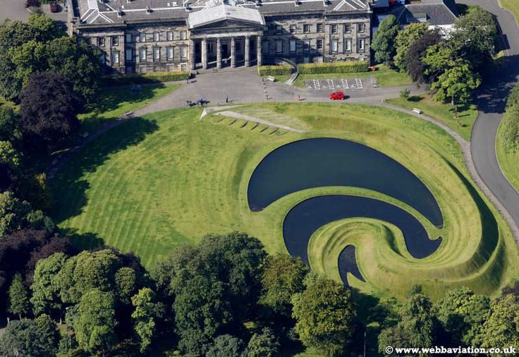 Charles Jencks Landform  Scottish National Gallery of Modern Art