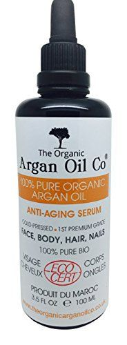 Pure Argan Oil 100ml – 100% Cold Pressed Organic ECOCERT Moroccan Oil Special Exclusive Amazon Launch Price!: 100% PURE HUILE D'ARGAN…