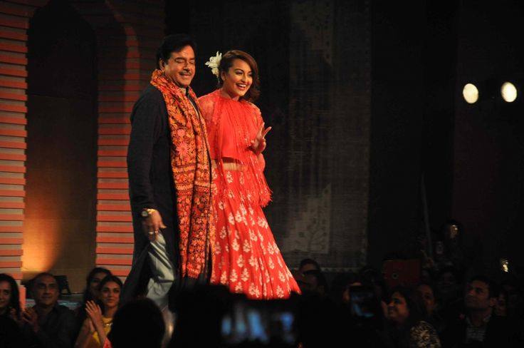 #Shatrughan Sinha with her #daughterSonakshi Sinha