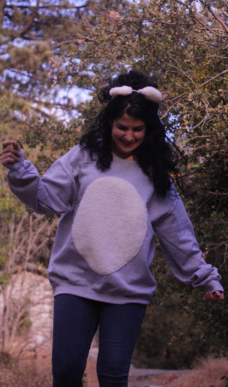 Perfect Last Minute Teddy Bear Costume DIY
