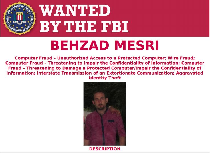 Iranian National Indicted for HBO Hack, Games of Thrones Leak 11/21/17 Behzad Mesri was not arrested but has been charged with wire fraud, computer hacking, aggravated identity theft, and other crimes- HBO Hack 2