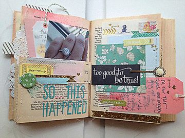 More Happy Little Moments - Pages 7 & 8 by sweetpeaink at Studio Calico