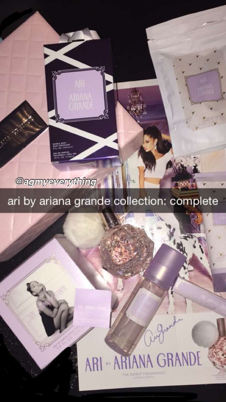 @agmyeverything basically I got the whole ari collection! I got more gifts but maybe I'll share them later... hope you babes had a great christmas ❄️ kiss your family, tell them you love them and say thank you // merry christmas babies