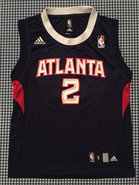 Joe Johnson Atlanta Hawks Replica Jersey Size Youth Small 8 Adidas Blue NBA | eBay