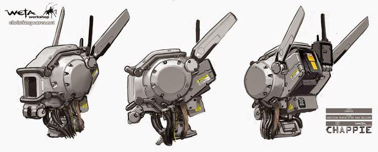 Chappie Concept Art - part 1!