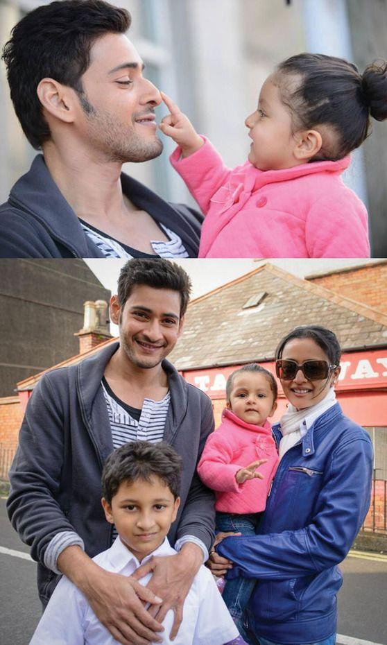 Pic Talk: Mahesh Babu Family Pics