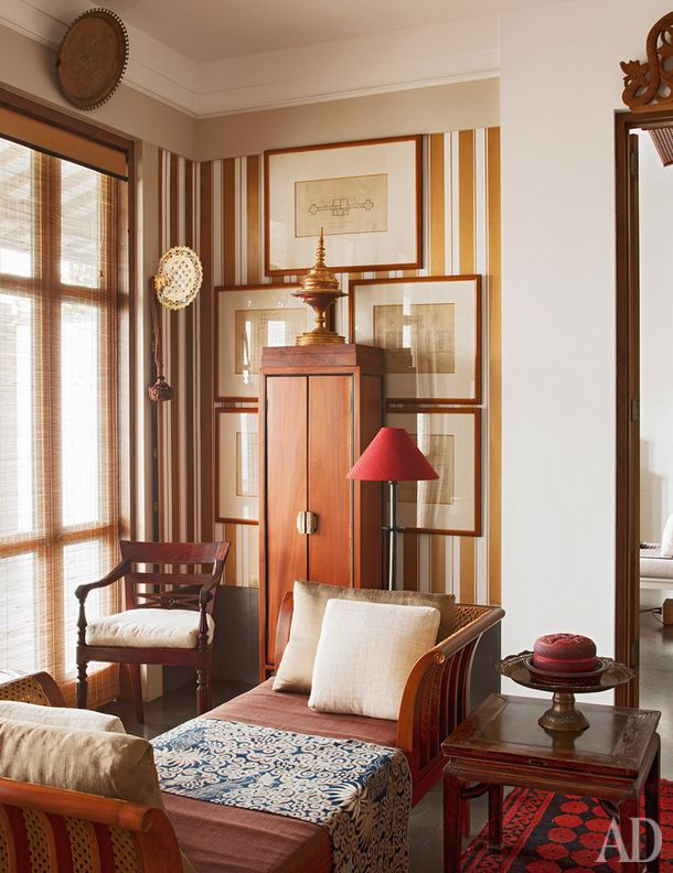 Indonesian designer Jaya Ibrahim , AD Magazine