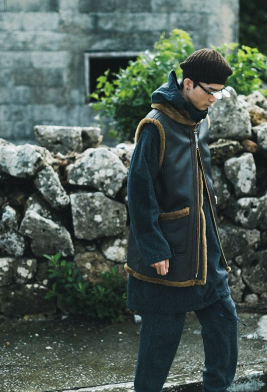 """NEPENTHES 2015 Fall/Winter """"Campul"""" Editorial #menswear #mode #style #fashion"""