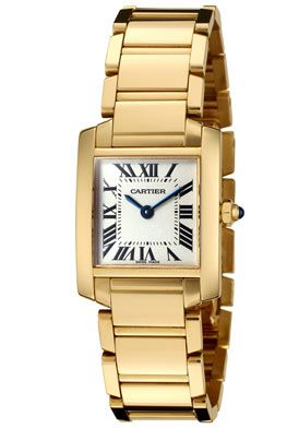 CartierWomen's Tank Francaise - yellow gold would like the 33mm one