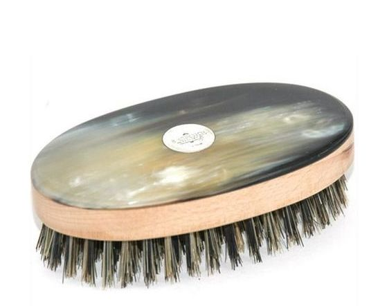 Handmade Natural Bristle Mens Hair Brush