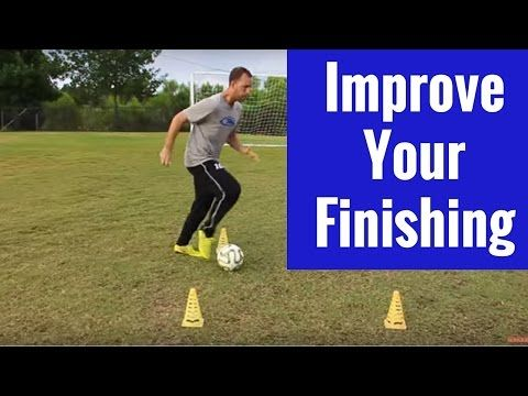 Soccer Drills   Improving Ball Control and Finishing - YouTube