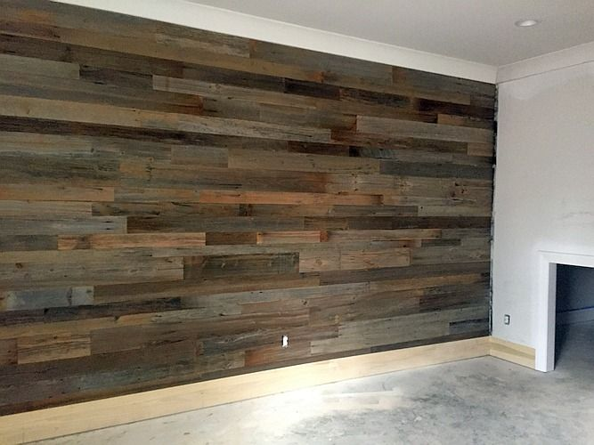 Barnwood Accent Wall Georgia Reclaimed Wood Wall Paneling Makeover Barn Wood Walls Bedroom Barnwood Accent Wall