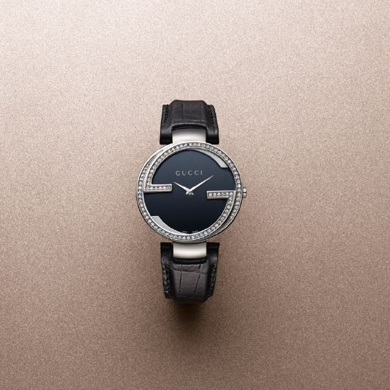 Timeless Elegance, courtsey of our Interlocking G timepiece.