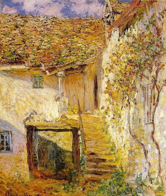 L'Escalier ― Claude Monet www.montableau.com