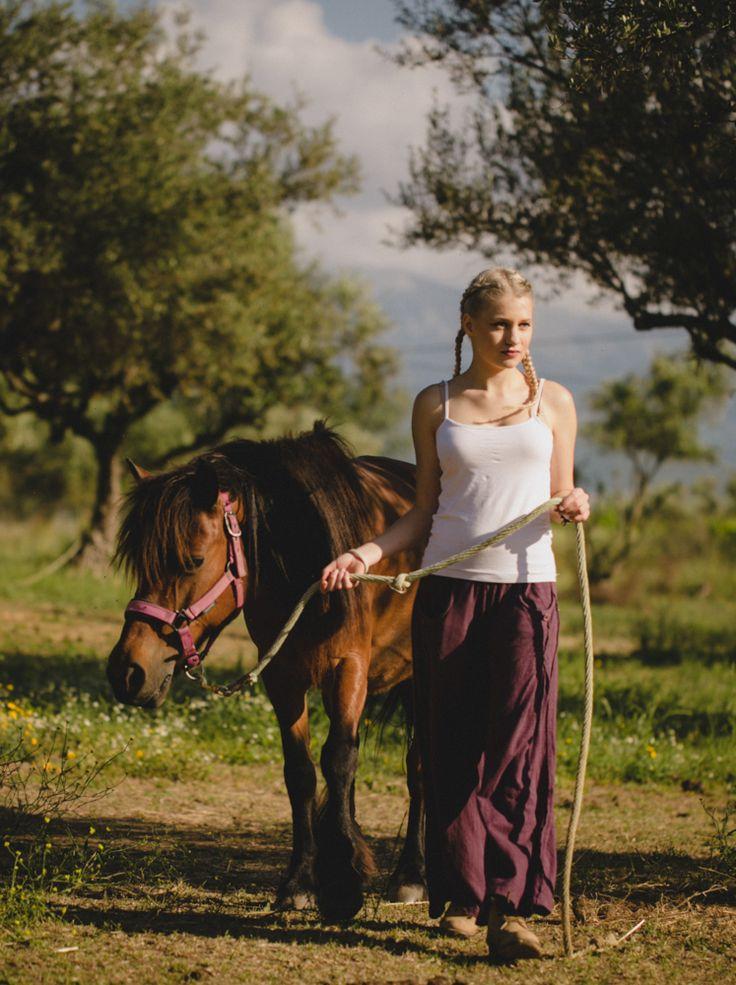 Photo shooting in riding school of Patras