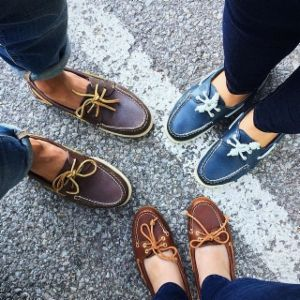 Choose a classic with the women's Authentic Original 2-Eye Boat Shoe from  Sperry Top