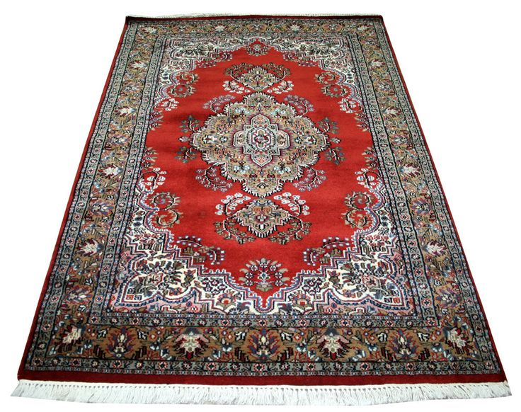 Hand-knotted Carpet Rugs Cashmere Carpet Area Rug Oriental Home Decor Large EDH #Unbranded #carpet