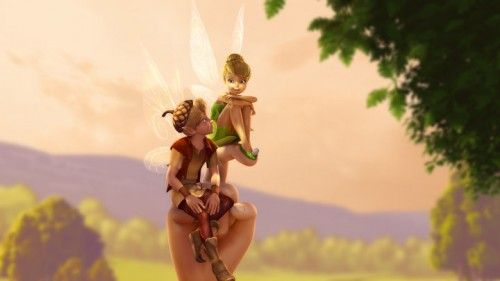 Tinker Bell and the Great Fairy Rescue – Fairy House Sneak Peek with Bridgit Mendler