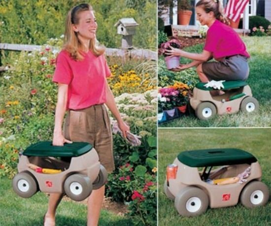 Arthriatis suffering avid gardeners would welcome the gift of this Garden Lawn Kneeler Seat Gardening u0026 Tools Storage Hopper Work Stool to alleviate the ...  sc 1 st  Pinterest & 87 best Gardening images on Pinterest | Agriculture Farming and ... islam-shia.org