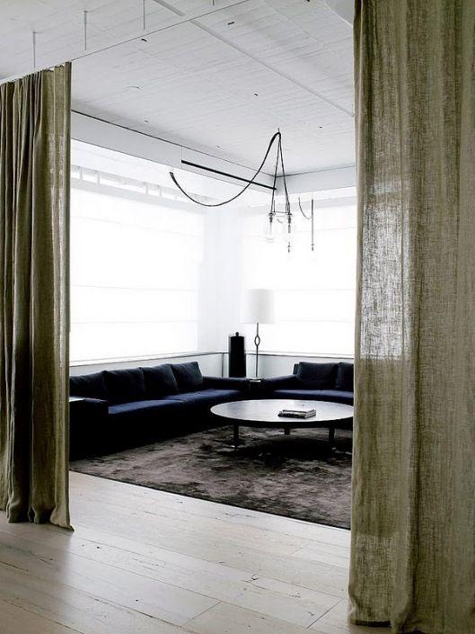 linen curtains curtain room
