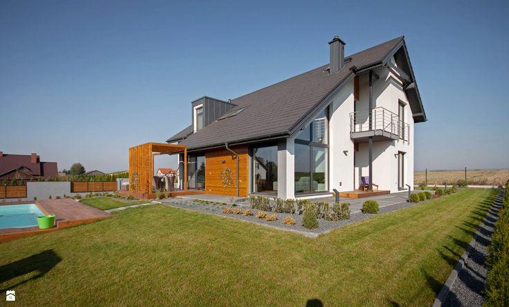 Domy styl Nowoczesny - zdjęcie od DOMY Z WIZJĄ - nowoczesne projekty domów…