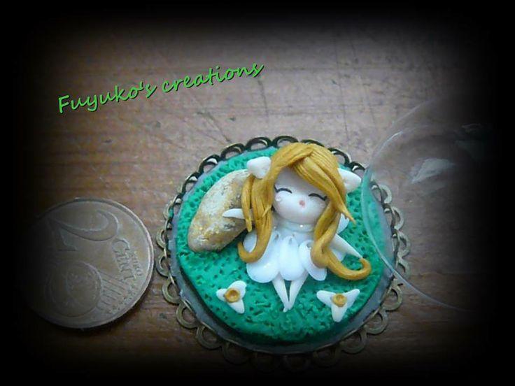 little Fairy  -polmer clay-