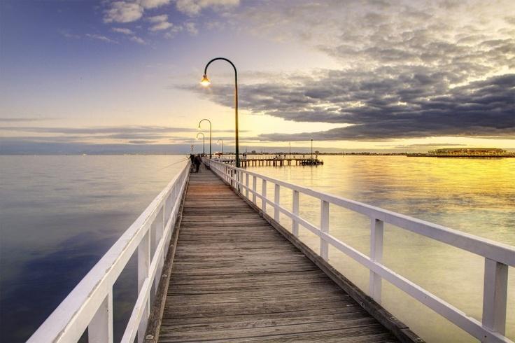 My Favourite Melbourne Pier.  Port Melbourne, Victoria Australia