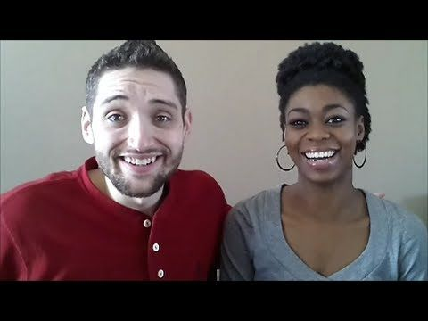 Interracial Relationships-Q&A Response- NaturalMe4C This clip is of a couple who are marriage but are different races. The talk about their relationship and how they make it work being different races.