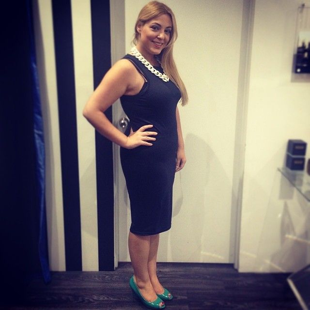 Dress from Supre Necklace from Bardot Shoes from Rubi
