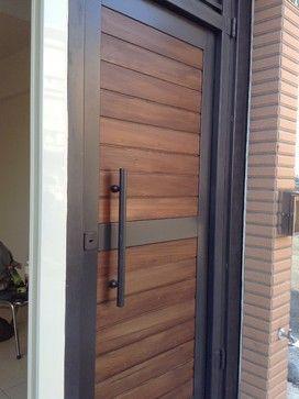 Garden Door - modern - front doors - YI CHENG DOORS CO., LTD
