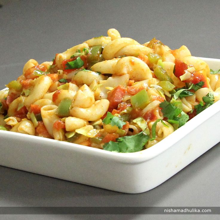 16 best delightful baked recipes images on pinterest english veg macaroni is an indian style macaroni prepared with desi spices and green vegetables recipe in english forumfinder Image collections