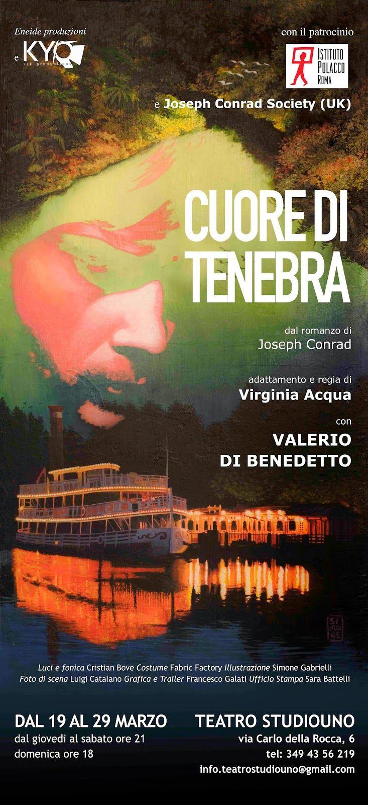 """TG Musical e Teatro in Italia: """"Cuore di tenebra"""" al Teatro Studiouno."""