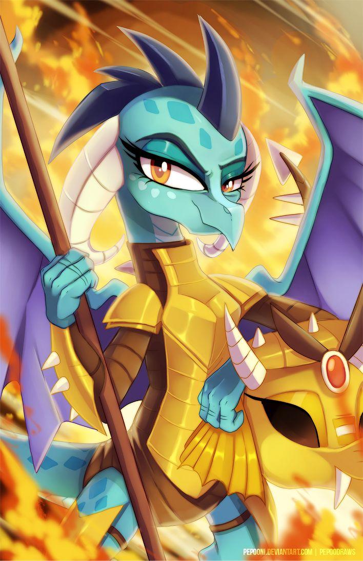 Princess Ember By Pepooni On Deviantart  My Little Dragon -9678