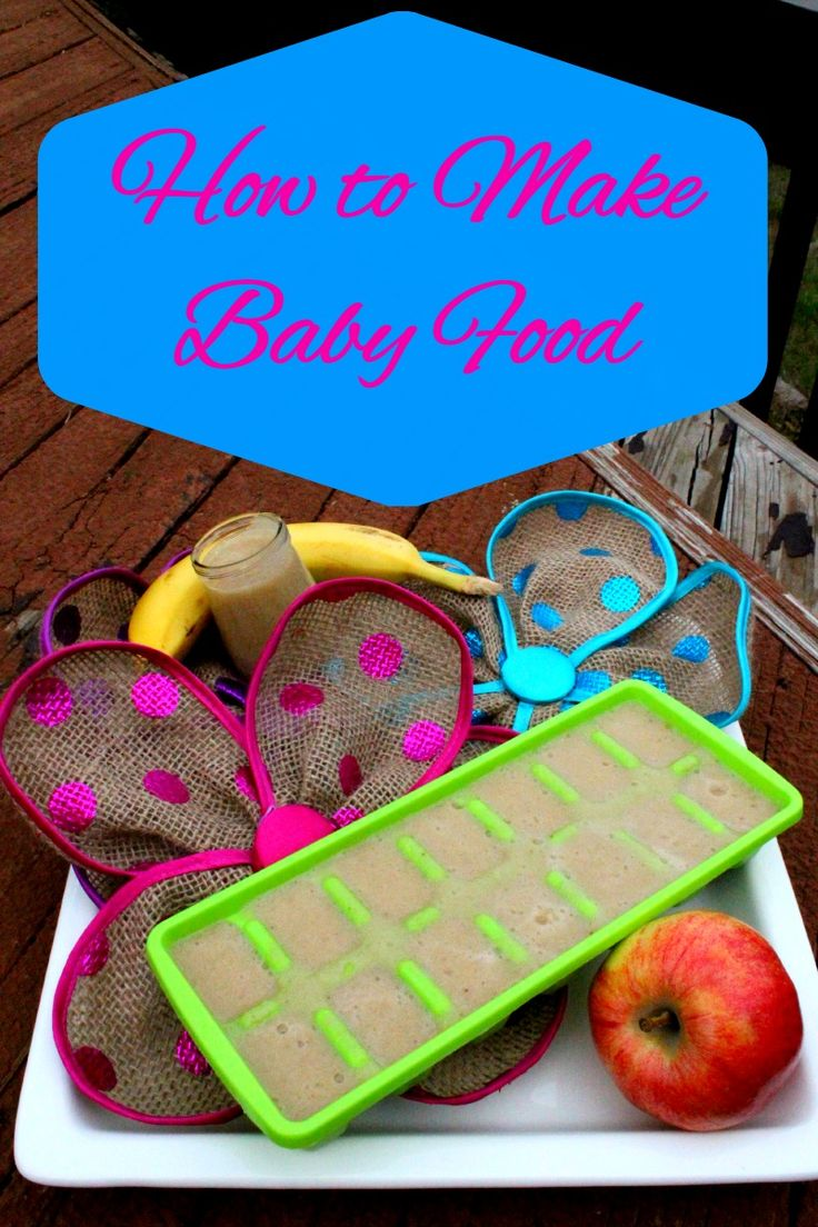 Making homemade baby food is easy and takes little time.. Here is How to Make Baby Food