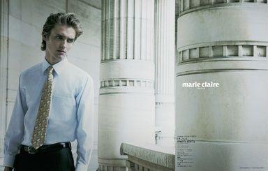 マリクレール パリと過ごす一日メンズシャツ