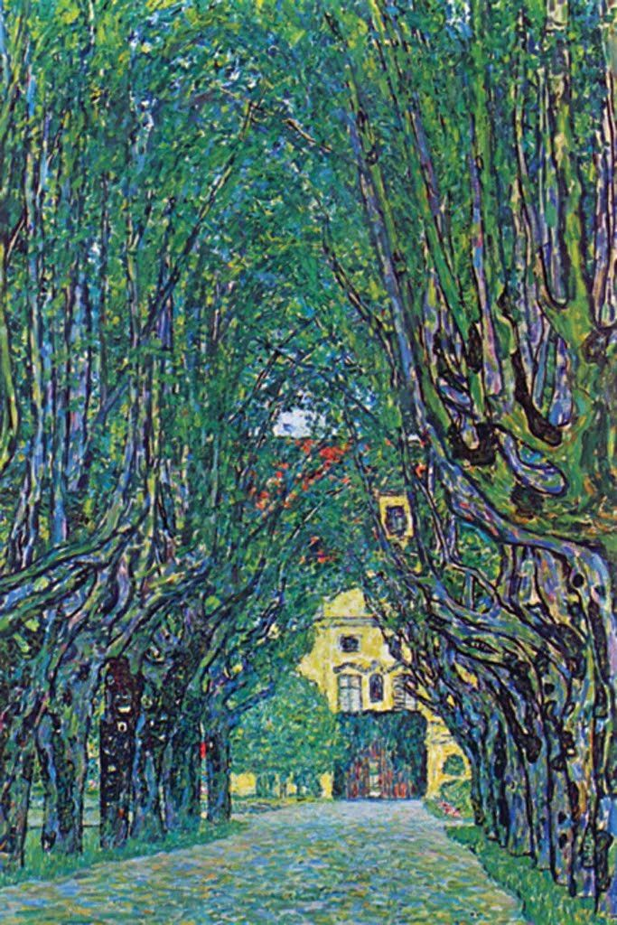 Way to the Park, by Gustav Klimt                                                                                                                                                                                 More