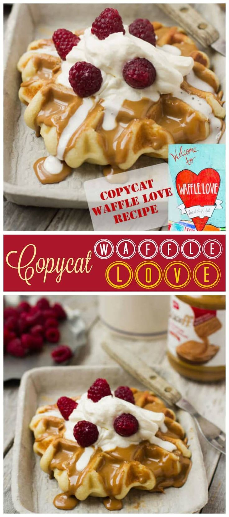 This Copycat Waffle Love Liege Waffle Recipe is the closest we've found to our favorite food truck waffles here in Utah using a Liege waffle.  ohsweetbasil.com