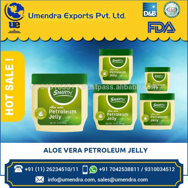 High Grade Quality Top Grade Aloe Vera Petroleum Jelly at Low Rate