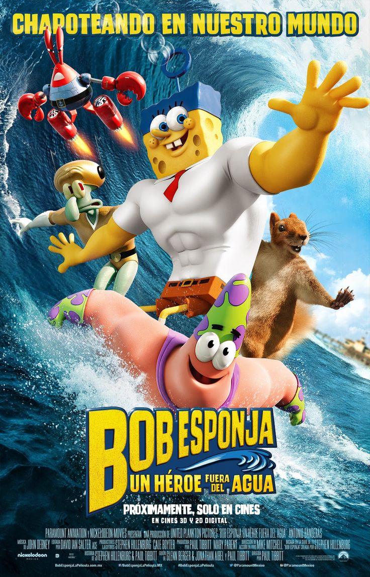 Ver Bob Esponja: Un héroe fuera del agua (2015) online ~ Pelìculas #SoyFelizCuando