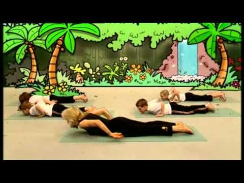 An instructional DVD that encourages children to take up yoga by having each of the 22 positions introduced by a cartoon animal with a special rhyme. Suitable for children aged 4 to 10. Ripped By: Michael Harford