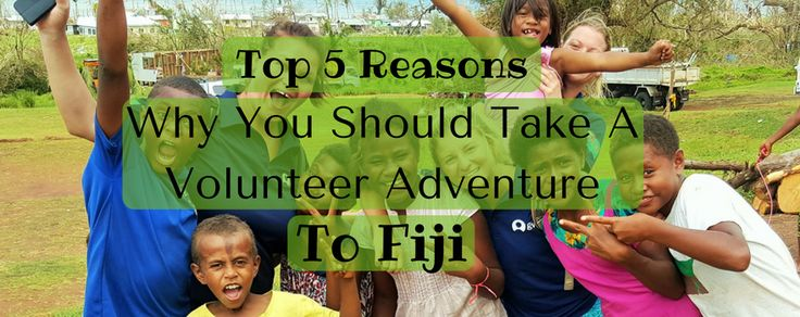#Fiji is home to stunning beaches and amazing people. The perfect volunteering destination http://www.gvi.co.uk/blog/top-5-reasons-fiji-best-country-volunteer/