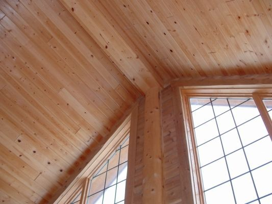 Cedar Paneling   Tongue and Groove