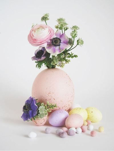 Precious Pastels Wedding Centerpiece