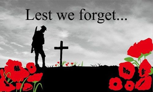 8' x 5' LEST WE FORGET FLAG Remembrance Poppy Poppies British Armed Forces Day
