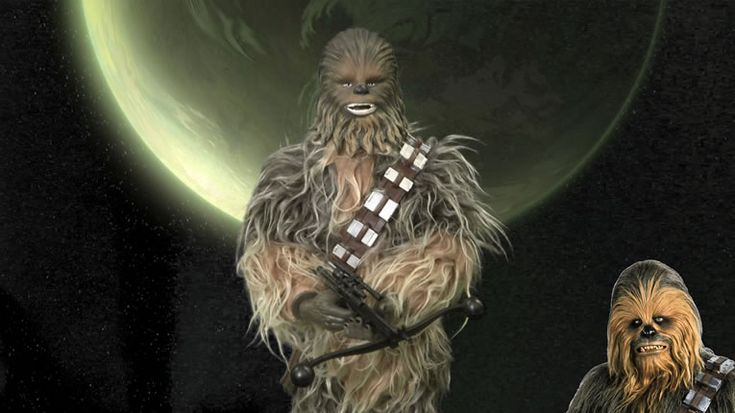 Chewbacca Voice Activated Animated Figure Roars & Boasts Shiny Real Fur Coat -  #Chewbacca #starwars #toys