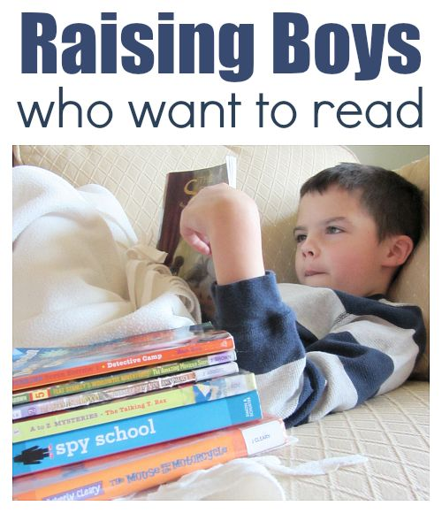 raising boys who want to read